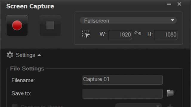 Захват изображения с экрана Screen Capture