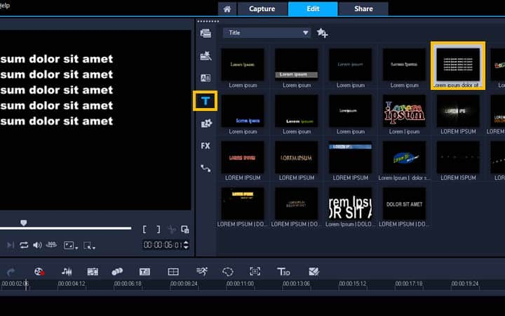 How To Add Video Credits in VideoStudio