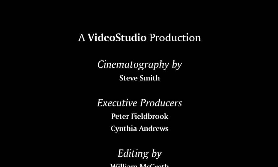 Add Video Credits