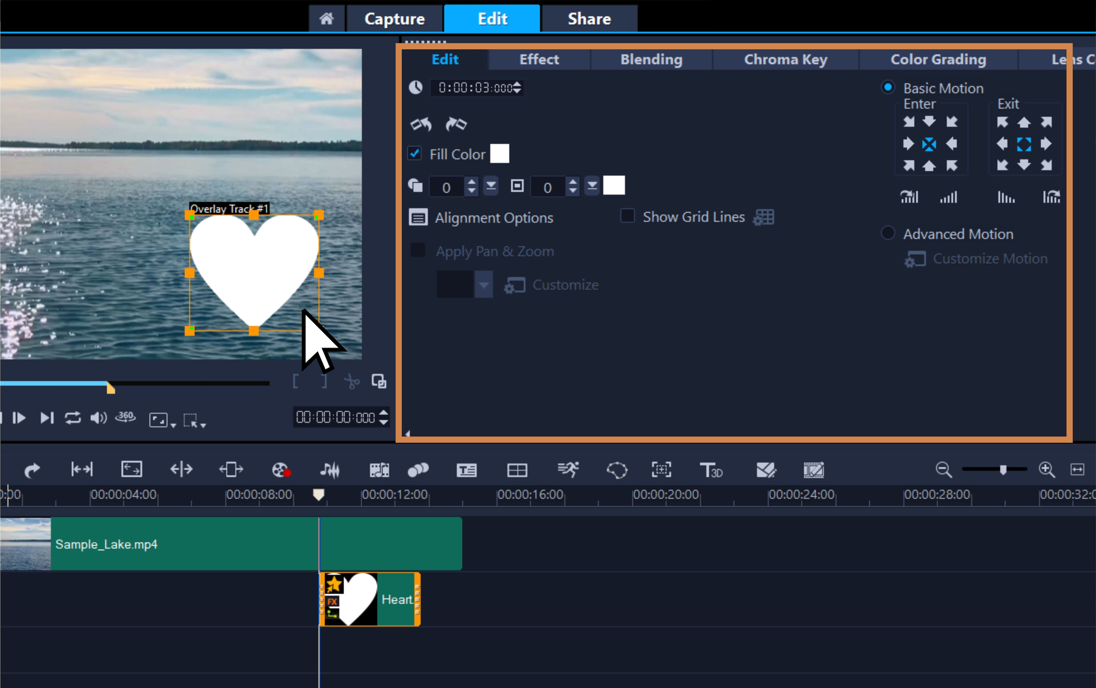 Customize the video overlay
