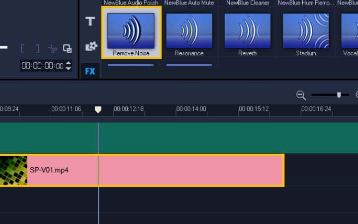 How To Remove Background Noise From Video in VideoStudio