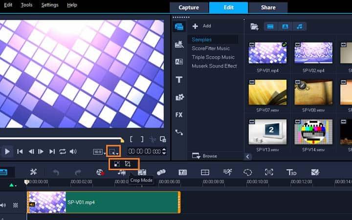 How To Crop A Video in VideoStudio