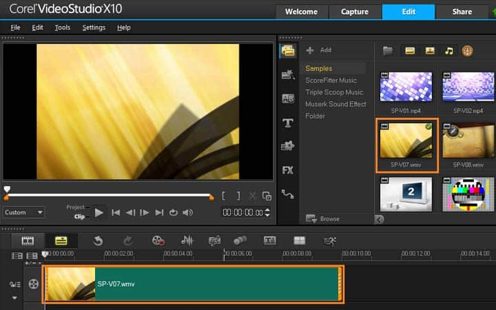 How To Edit A Video in VideoStudio