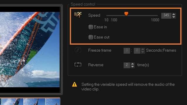 edit video online slow motion