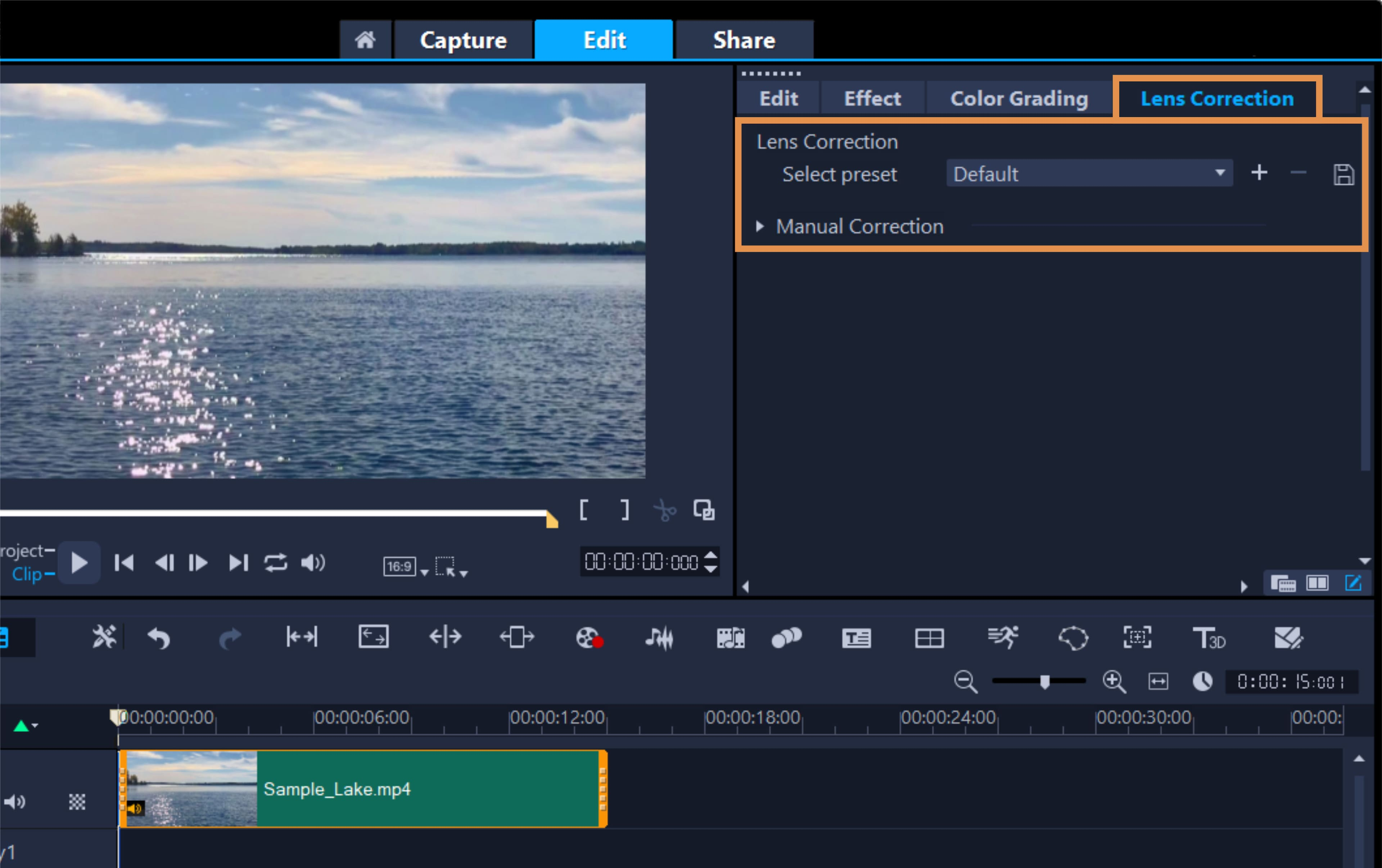 How To Remove Lens Distortion in VideoStudio