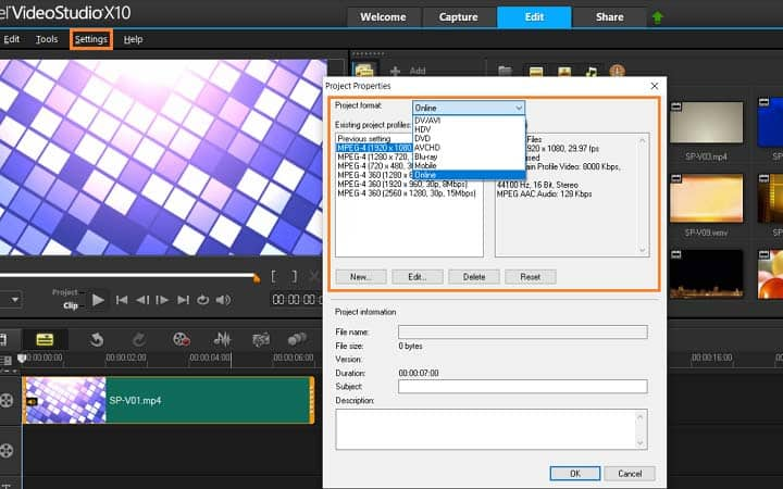 How To Change The Aspect Ratio Of A Video in VideoStudio