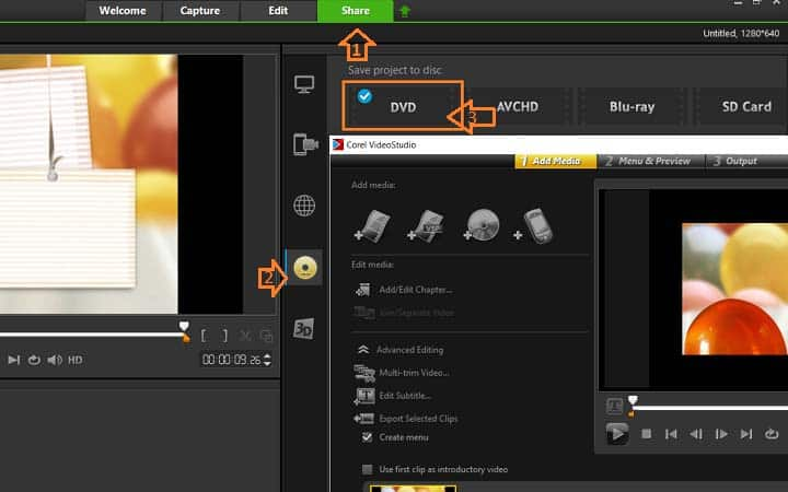 How To Create DVD Menus And Chapters in VideoStudio