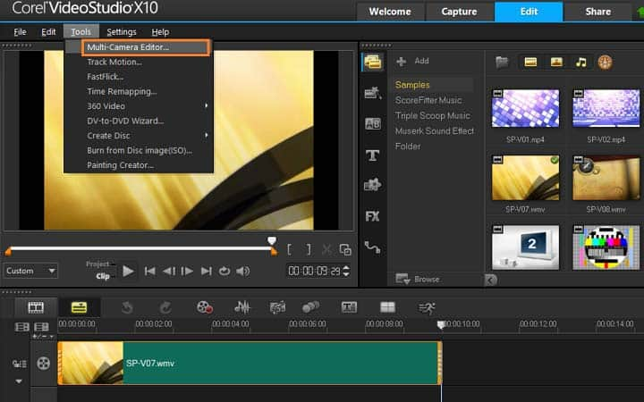 How To Make A Music Video in VideoStudio