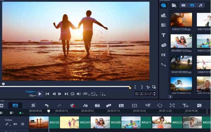 create photo video with music free