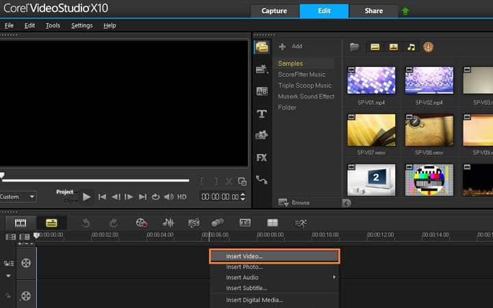 How To Convert Video Files in VideoStudio