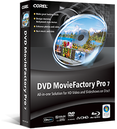 dvd burning amp authoring software dvd moviefactory pro 7