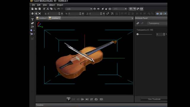 3D Animation Software - Corel MotionStudio 3D