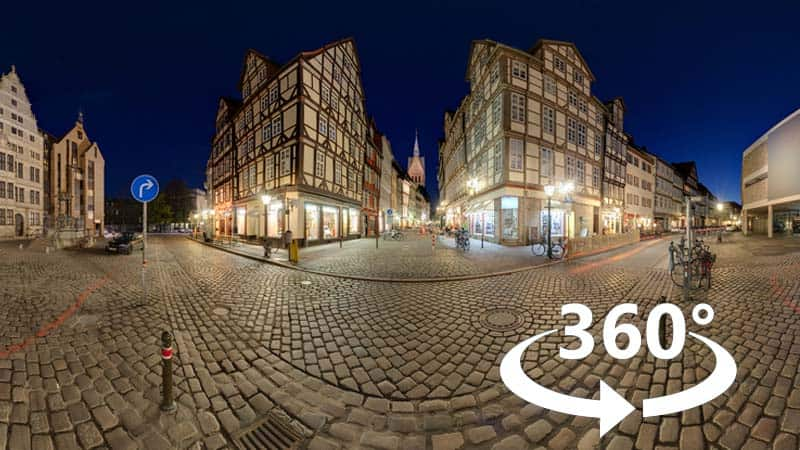 360° Video bewerken