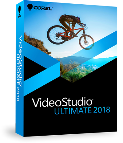 Movie Editing Software by Corel - VideoStudio Ultimate 2018