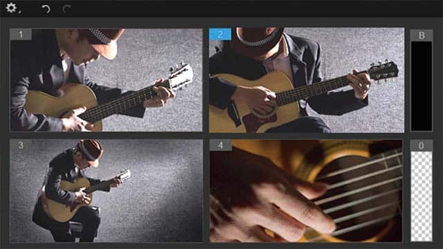Multikamera-Videoeditor