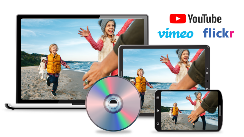Create videos to share with your family & friends