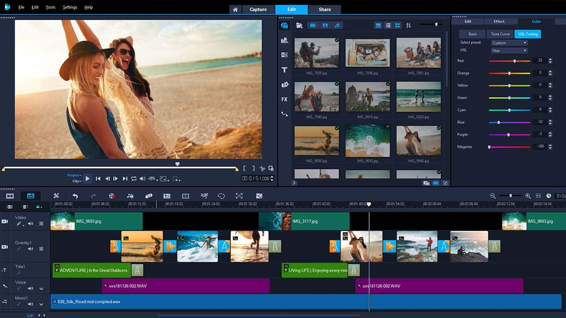 Movie Editing Software by Corel - VideoStudio Ultimate 2019