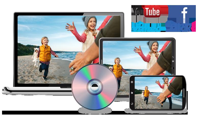Crea video da condividere con familiari e amici