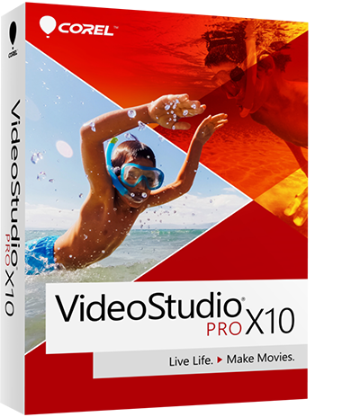 VideoStudio video editing software