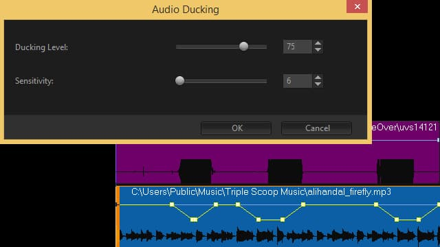 l'Audio Ducking
