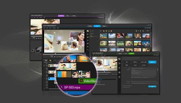 video software videostudio x8 family. Black Bedroom Furniture Sets. Home Design Ideas