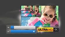 Prestazioni 4K e qualità Ultra HD eccezionali
