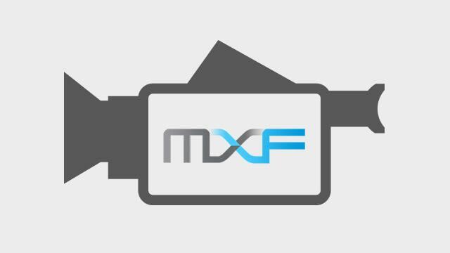 支援 MXF