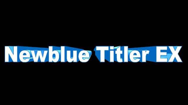 NewBlue TitlerEX